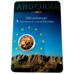 Andorra 2014 2 Euro (SC)