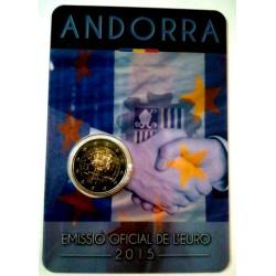 Andorra 2015 2 Euro (SC)