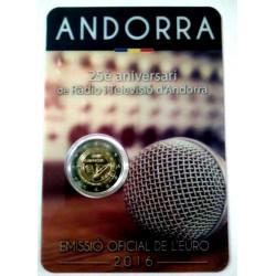 Andorra 2016 2 Euro (SC)