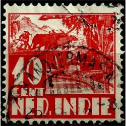 (172) Indias Holandesas. 1933-37. 10 Cents (Usado)