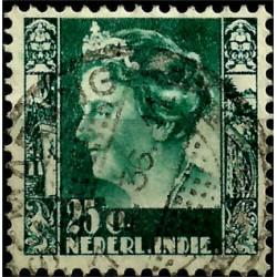 (177) Indias Holandesas. 1933-37. 25 Cents (Usado)