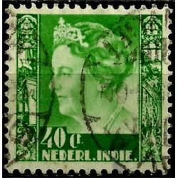 (181) Indias Holandesas. 1933-37. 40 Cents (Usado)