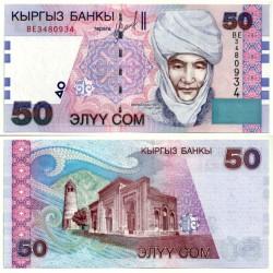 (20) Kirguizistán. 2002. 50 Som (SC)