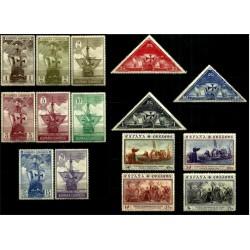 (531 a 545) 1930. Serie Completa. Descubrimiento de América (Nuevo, con marcas de fijasellos)