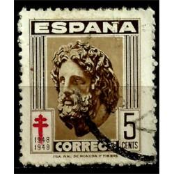 (1040) 1948. 5 Céntimos. Pro Tuberculosos (Usado)
