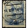 (1052) 1949-53. 45 Céntimos. General Franco (Usado)