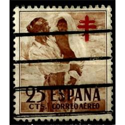 (1105) 1951. 25 Céntimos. Pro Tuberculosos (Usado)