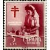 (1121) 1953. 5 Céntimos. Pro Tuberculosos (Usado)