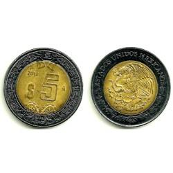(605) Estados Unidos Mexicanos. 2012. 5 Pesos (MBC+)