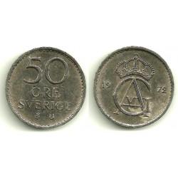 (837) Suecia. 1972. 50 Ore (MBC)