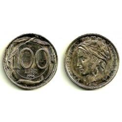 (180) Italia. 1994(R). 100 Lira (MBC+)
