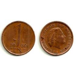 (180) Países Bajos. 1969. 1 Cent (MBC)