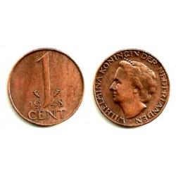 (175) Países Bajos. 1948. 1 Cent (MBC)