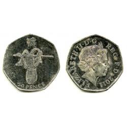 Gran Bretaña. 2011. 50 Pence (EBC-)