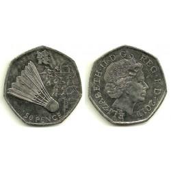 (1174) Gran Bretaña. 2011. 50 Pence (EBC)
