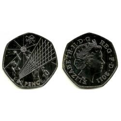 (1181) Gran Bretaña. 2011. 50 Pence (Proof)