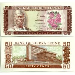 (4d) Sierra Leona. 1981. 50 Cents (SC)