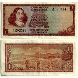 (115a) Sudafrica. 1973-75. 1 Rand (BC)