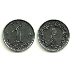 (928) Francia. 1967. 1 Centime (SC)