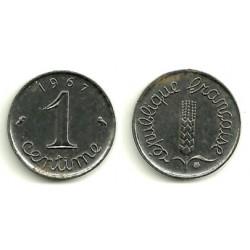 (928) Francia. 1967. 1 Centime (EBC+)