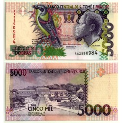 (65c) Santo Tomé y Principe. 2004. 5000 Dobras (SC)