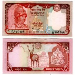 (55) Nepal. 2006. 20 Rupees (SC)