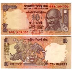 India. 2008. 10 Rupees (SC)