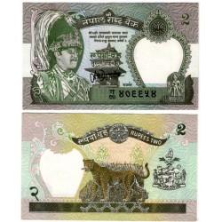 (29b) Nepal. 1981-01. 2 Rupees (SC)