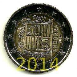 Andorra. 2014. 2 Euro (SC)