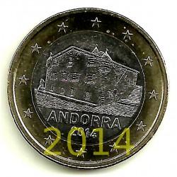 Andorra. 2014. 1 Euro (SC)
