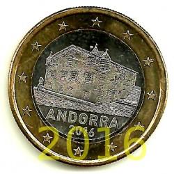 Andorra. 2016. 1 Euro (SC)