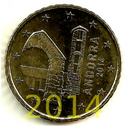 Andorra. 2014. 50 Céntimos (SC)