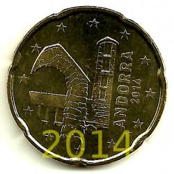 Andorra. 2014. 20 Céntimos (SC)