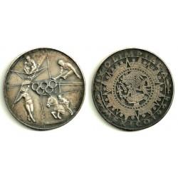 Medalla Olimpiada Mexico 1968 (Plata)
