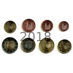 España. 2018. Serie Completa (8 Valores) (SC)