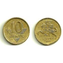 (106) Lituania. 1997. 10 Centu (MBC+)
