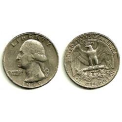 (A164a) Estados Unidos de América. 1979. Quarter Dollar (BC)