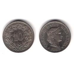 (27) Suiza. 1982. 10 Rappen (EBC)