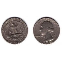 (164a) Estados Unidos de América. 1970(D). Quarter Dollar (BC)