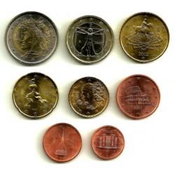 Italia. 2002. Serie Completa (8 Valores) (SC)