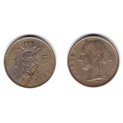 (143.1) Belgica. 1968. 1 Franc (BC+)