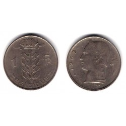 (142.1) Belgica. 1969. 1 Franc (MBC)