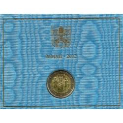 Ciudad del Vaticano 2012 2 Euro (SC)