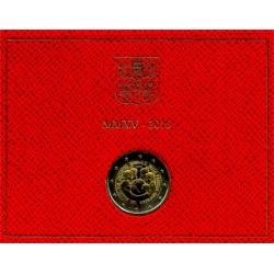 Ciudad del Vaticano. 2015. 2 Euro (SC)