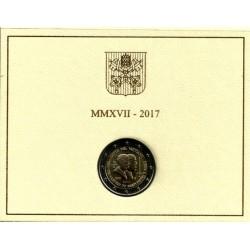 Ciudad del Vaticano. 2017. 2 Euro (SC)