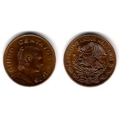 (472) Estados Unidos Mexicanos. 1976. 5 Centavos (EBC)