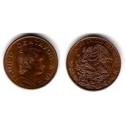 (472) Estados Unidos Mexicanos. 1974. 5 Centavos (MBC)