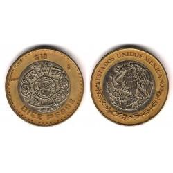 (616) Estados Unidos Mexicanos. 2005. 10 Pesos (BC+)