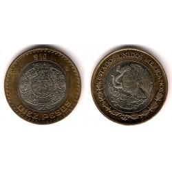 Estados Unidos Mexicanos. 2016. 10 Pesos (EBC+)