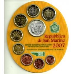 San Marino. 2007. Cartera Oficial (SC)